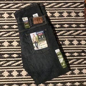 NWT Men's Denizen from Levi's Straight Jeans 38x32